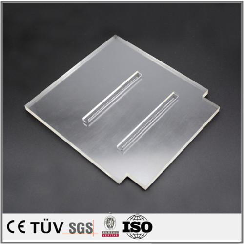 多種類機加工、pom、pvc,玻璃、ナイロンなど非金属材料、医療設備部品