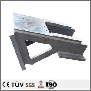 精密溶接、アルマイト、硬質クロムメッキ、酸化など処理、曲がり機、埋弧焊など設備、高精密溶接部品。
