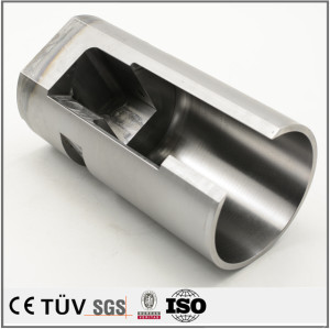 Guaranteed customized Oxidation processing CNC machining for shaver machine parts