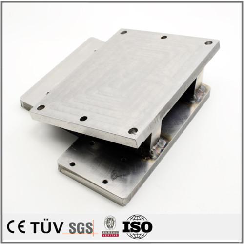 図面による加工,公差が厳格な抑える,酸化,メッキなど各種表面処理,NC旋盤カット機など先進設備を使用する溶接部品.