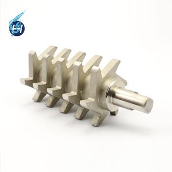 高温鋳造や金型鋳造や整体圧形鋳造色々鋳造方法を使用しって表面研磨,酸化処理で工業用鋳造部品