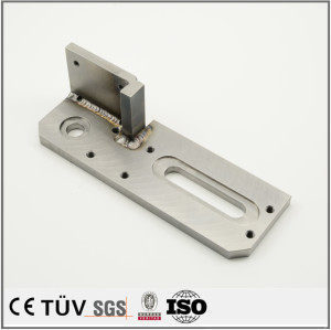 Made in china mig welding processing CNC machining for cash register machine parts