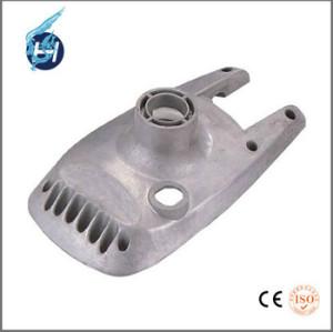 熱成型機,エアポンプで使って,青と白の亜鉛,硬質アルマイトなど処理オーダーメイド超精密的な工業用鋳造部品.