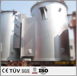 エッジトリムステーションを使って,外見バフ仕上げ,精修後処理の高品質の大規模精密溶接部品.
