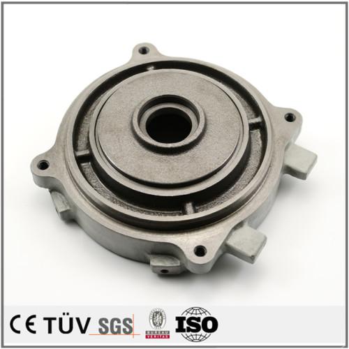 鋳造金型と鋳造成形機で使用し,水ガラスの方法,鉄材の使用し,ショットブラスト処理中国製造鋳造部品,