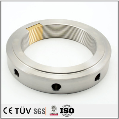 Well-known customized precision turning process service CNC machining electric stove parts