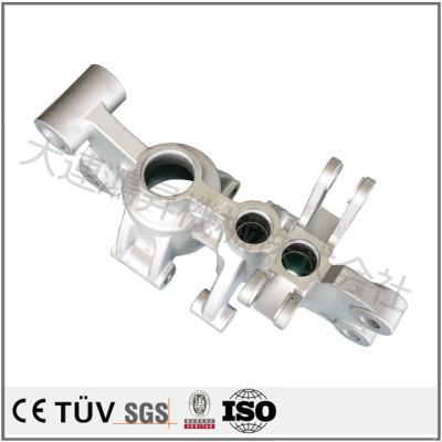 アルミ合金材質,水ガラスの方法を使って,整体圧鋳,白アルマイト処理自動車用鋳造部品
