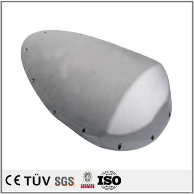金型鋳込み,ショットブラストと研削処理,SS400材料,高精密機加工メーカー製造の設備用鋳造部品.