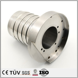 机械加工数控机加工生产的不锈钢材质产品,精密机械加工工件