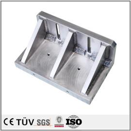 包装機用高精密溶接部品,鈍化,錆止め,ワイヤカット加工,研削機加工,A2017材料.