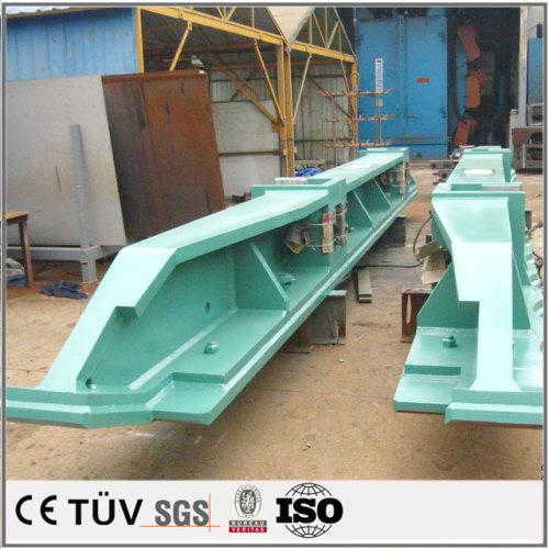 複合加工機,SUS440,アルミ合金材質,鏡面バフ仕上げ,大型溶接部品.