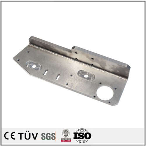 厳密な生産技術 NC旋盤 研削盤 マシニングセンターで加工 A2017材料溶接部品 溶接製品