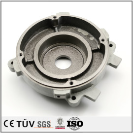 SS440材料鋳造 パンチプレス アルマイト  ニッケルメッキ  ショットブラスト表面鋳造 建築用 鋳造加工