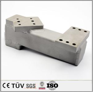 中国精密溶接構造部品、SS400材質、クロムメッキ処理、研削加工、電子設備用溶接部品。