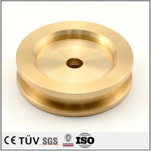Precision brass turning fabrication CNC machining parts