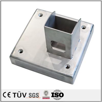 各板金材料の溶接及び製造 マシニングセンター、NC旋盤、ワイヤーカット、フライス 産業用溶接部品.