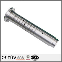 Precision turning and milling composite CNC machining motor spindle parts