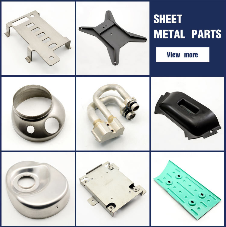 Sheet metal bending process metal housing parts