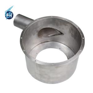 SUS303材質を取り入れて、旋盤を駆使して、酸洗処理、無縫い溶接の技術を使用する包装機用溶接部品。