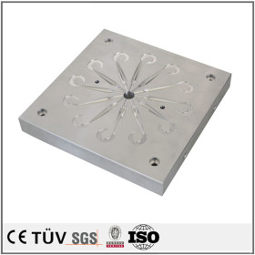 High precision CNC machining center stainless steel mold parts fishing gear mold core