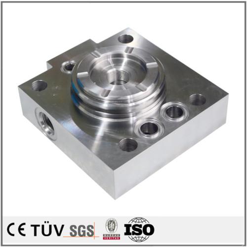 五軸連動複合加工機  電子設備用機  加工部品  処理 研削処理  炭鋼材質 船舶用 機械加工