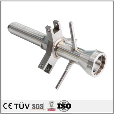 High precision welding parts machining, CNC machining Stainless Steel Parts