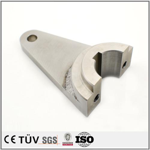 精密加工溶接部品、フライス盤、NC旋盤加工設備、アーク溶接。