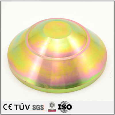 Hot-selling custom made zinc color-plated fabrication parts