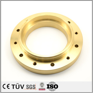 Customized brass precision milling fabrication CNC machining parts