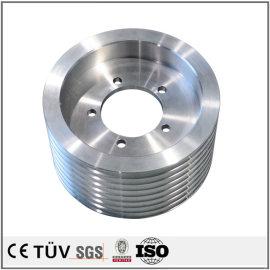 アルミ材機加工部品、五軸マシニングセンターを駆使して、研削、中国精密部品。