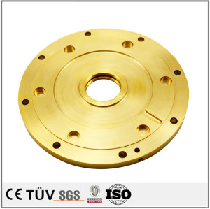 OEM brass precision milling fabrication service CNC machining mechinery and equipments parts