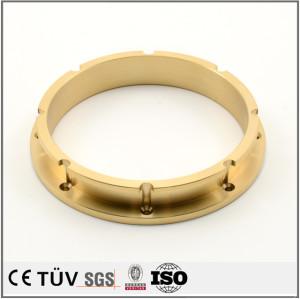 黄铜材质的镜面抛光处理,电极设备配件