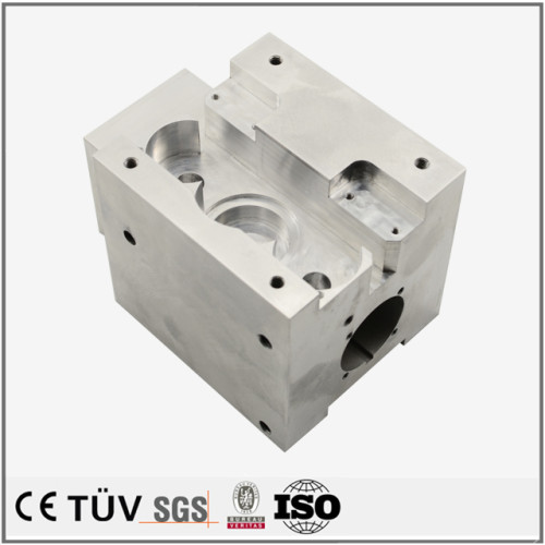 アルミ切削部品  高精密CNC加工  機械パーツ加工