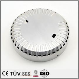 レーザー刻印部品/SCM435浸炭焼入れ部品/アルマイトしたA5052材部品/白アルマイトしたA6061部品