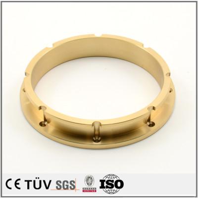 真鍮材精密な印刷機用部品/H59精密な加工部品/H62材の包装機用部品