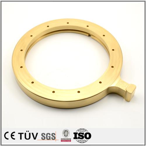 真鍮部品/旋盤加工した精密部品/銅旋盤加工部品/5軸マシニングセンター加工精密部品