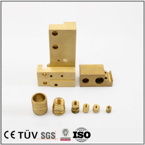 真鍮部品/五軸マシニングセンター加工した精密部品など/電子音響の精密装置部品/半導体機械部品/産業機械部品など
