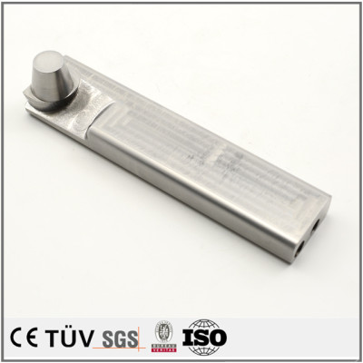 複合加工機加工高精密アルミ部品/電機用SKD11部品/表面処理部品