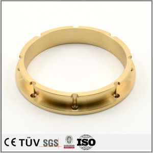 Brass precision turning CNC machining recycle machine parts