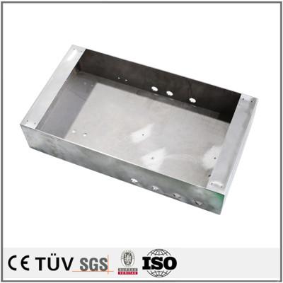 Precision sheet metal bending working custom metal box parts