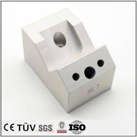 アルミ表面処理 表面処理部品 バフ仕上げなどの精密部品 機械黒染め部品