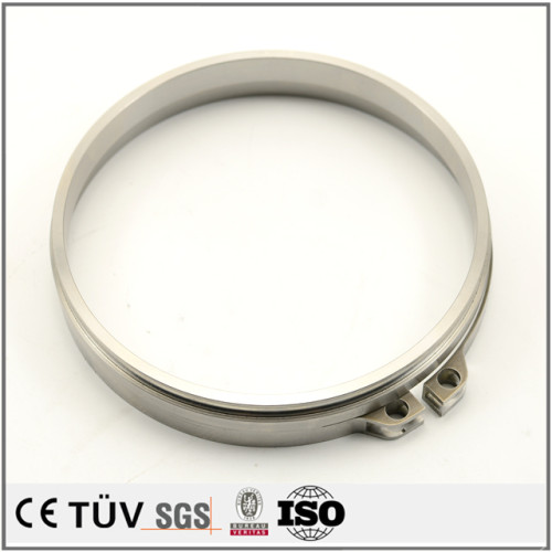 NC旋盤/旋盤加工したSUS304精密部品/精密機械部品/精密部品/平面研削