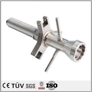 導体機械部品 工作機械部品 電子音響の精密装置部品 半産業機械部品 溶接した部品