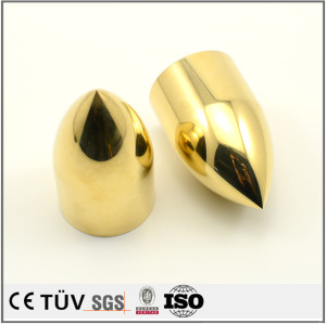 NC旋盤加工した精密部品 銅など材料の精密部品