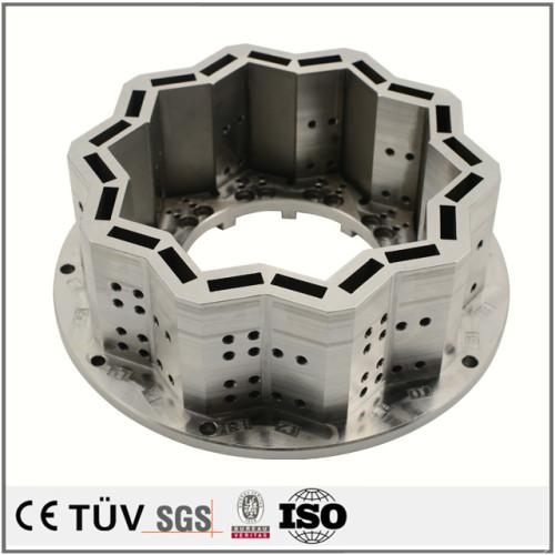 工作機械、産業機械、モータ巻線機部品の精密切削、ワイヤー放電加工
