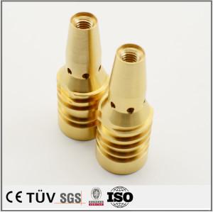 銅旋盤加工部品  旋盤加工精密機械部品