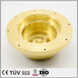 真鍮精密機械部品 CNC精密加工部品