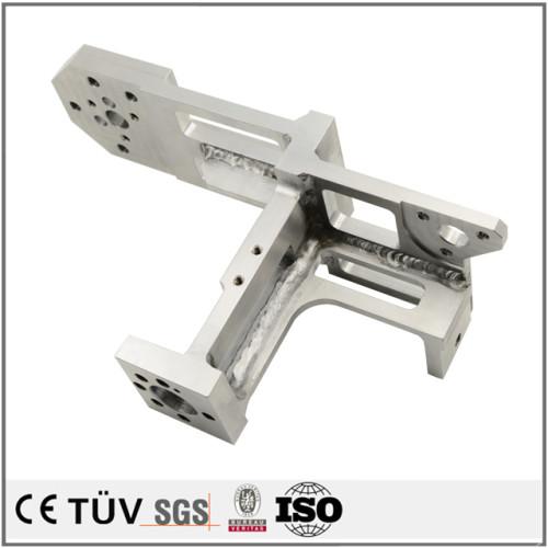 鉄・SUS・真鍮・銅・チタンレアメタル等、豊富な実績で対応。スポット溶接加工.