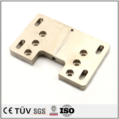 艶クロメートメッキしたSS400材部品/無電解ニッケルした印刷機用部品/硬質クロムメッキした部品