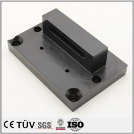 マシニングセンター加工部品/大連高品質金属加工部品/旋盤加工したSUS304精密部品/表面処理黒染め精密部品